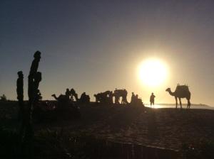 Zonsondergang op de Paaseilanden?